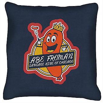 Ferris Buellers Day Off Abe Forman Sausage King Of Chicago Cushion