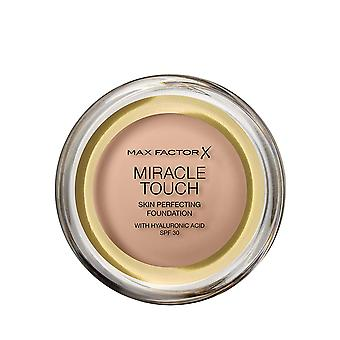 Max Factor Miracle Touch Skin Perfecting Foundation SPF30 - 45 Warm Almond