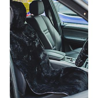 Nordvek Luxury Natural Sheepskin Car Seat Cover - Universal Fitting - Padded Underside For Comfort # 107-100