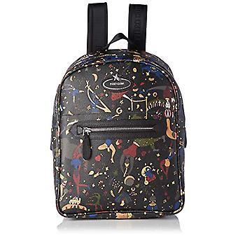 piero drives Back Pack Black Women's Backpack Bag (Black) 24x315x125 cm (W x H x L)