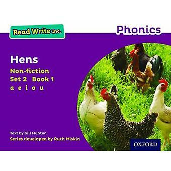 Read Write Inc. Phonics - Purple Set 2 Non-Fiction 1 Hens by Gill Munt