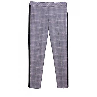 Taifun Grey Check Trousers