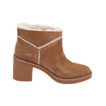 UGG W KASEN Women's Boots Beige Lace-Up Boots Winter