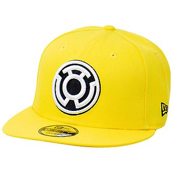Gul Lanterne Sinestro Corp Farve blok ny æra 9Fifty justerbar hat