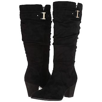 Dr. Scholl's Shoes Women's Devote Wide Calf Riding Boot