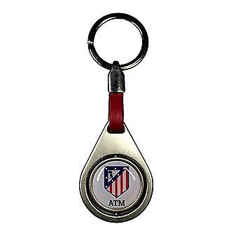 Chaveiro Atl tico Madrid 20786 Metal
