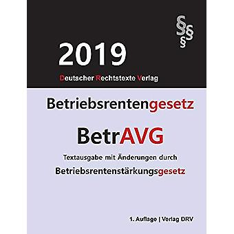 Betriebsrentengesetz - BetrAVG by Redaktion Drv - 9783947894611 Book
