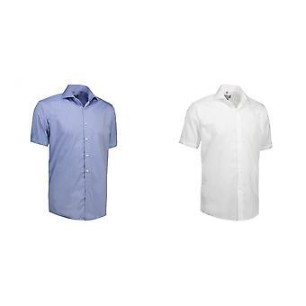 ID miesten sakon Twill paita lyhythihainen Modern Fit