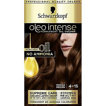 Schwarzkopf Oleo Intense Hair Colour - 4-18 Mocca Brown