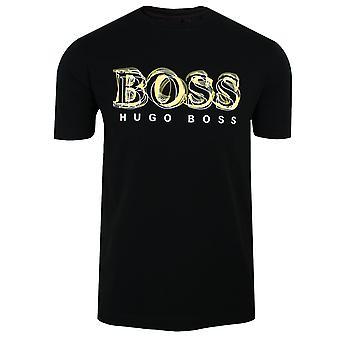 Hugo boss tee 4 uomini's t-shirt nera