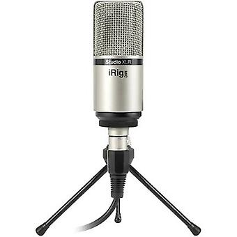 IK Multimedia iRig Mic Studio XLR Studio microphone Transfer type:Corded incl. cable, incl. clip, incl. stand