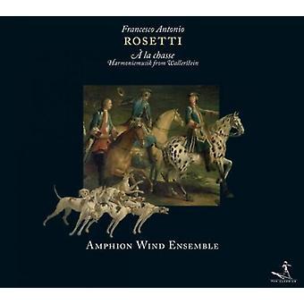 Rosetti / Amphion Blaseroktett - Harmoniemusiken Fur Wallerstei [CD] USA import