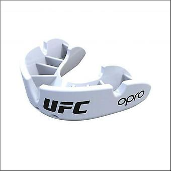 Opro junior ufc bronze mouth guard white