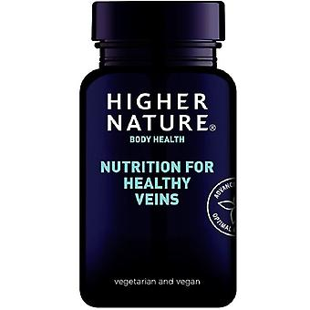 Higher Nature Nutrition for Healthy Veins Vegetable Capsules 90 (VSF090)