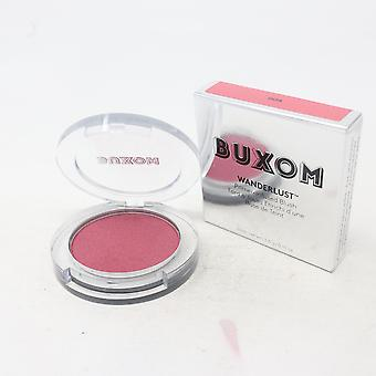 Buxom Wanderlust Primer-Infused Blush  0.13oz/3.6g New With Box