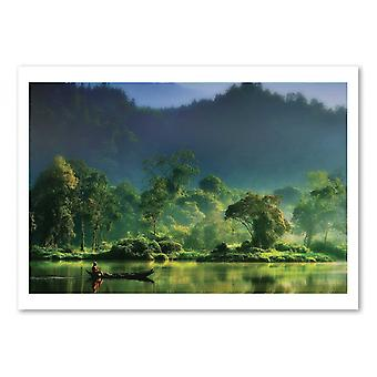 Art-Poster - Painting of Nature - Hardibudi 50 x 70 cm