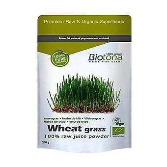 Vehnäruoho Raaka Vehnä Juice Bio 200 g