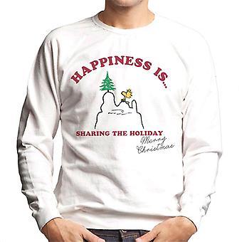 Peanuts Szczęście dzieli się wakacyjną bluzą męską