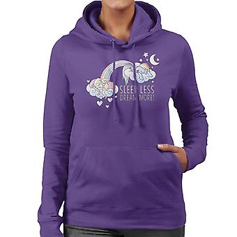 My Little Pony Sleeps Less Dream More Women's Hooded Sweatshirt