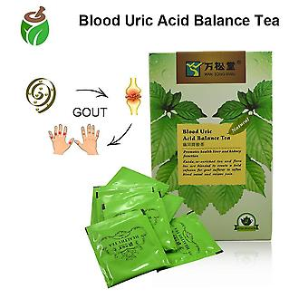 40 Pcs/2 Packs Natural Blood Uric Acid - Balance Tea Gout Pain Relief Kidney Care Enhance Immunity Tea|plant Extract