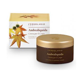 Ambraliquid Body Cream 250 ml