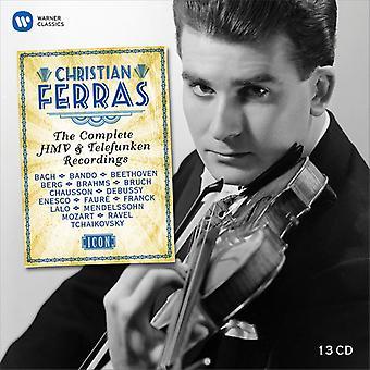 Ferras*Christian - Icon - Christian Ferras [CD] USA import