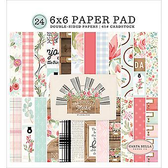 カルタベラファームハウス市場6x6インチ紙パッド