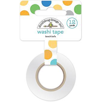 Doodlebug Design Beach Balls Washi Tape