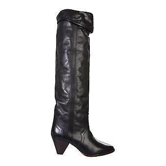 Isabel Marant Cd003520a041s01bk Women's Black Leather Boots