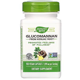 Nature's Way, Glucomannan från Konjac Root, 1 995 mg, 100 veganska kapslar