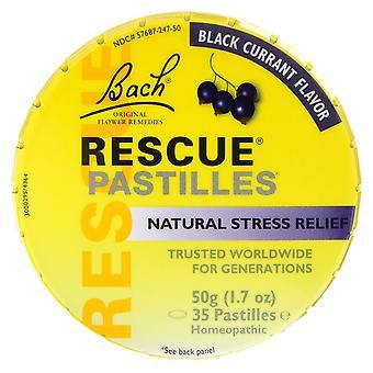 Bach, Original Flower Remedies, Rescue Pastilles, Natural Stress Relief, Black C