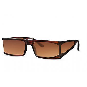 نظارات شمسية المرأة مستطيلة كامل edgecatcat.3 البني / البني