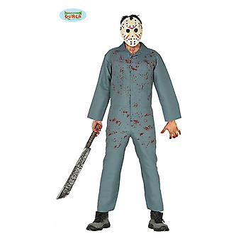 Costume da uomo psico-costume di Halloween