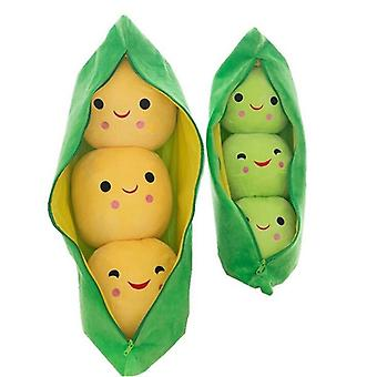 25cm Cute Kids Baby Plush Toy Pea Stuffed Plant Doll - Kawaii For Children Boys / Girls Gift