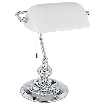 1 Lampa stołowa Light Banker Chrom, E27