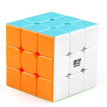 D-fantix Qiyi Warrior W 3x3x3 Magic Cube Professional 3x3 Hastighet Kuber Pussel 3