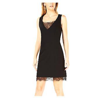 Bar III | Lace Trim Sleeveless Dress