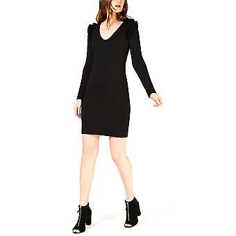 Trina Turk | Eleanora Ruffle-Shoulder Shift Dress