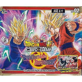 Dragon Ball Super CG: TB02 World Martial Arts Turnering Tema Booster Box