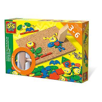 SES Creative Children's Hammer Tap Fantasy Motor Skills Toy (926)