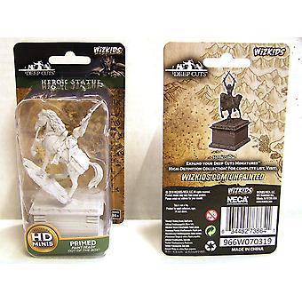 Dungeons & Dragons Wizkids Deep Cuts Unpainted Miniatures Heroic Statue 6 Packs