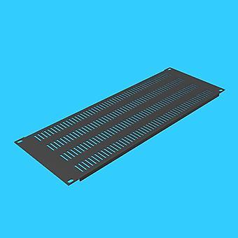 Høy kvalitet 4u kjøleventilasjonsstativ blind flens perforert panelmontering
