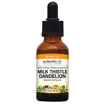 Eclectic Institute Inc Milk Thistle - Dandelion, 1 Oz Alcohol free