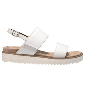 Benvado Lilly White Leather Women's Sandal