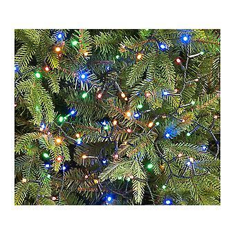Festive Glow Worm Lights x 520 Pastel P032638