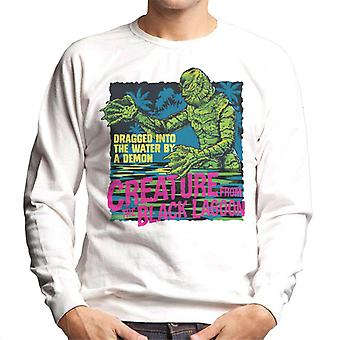 The Creature From The Black Lagoon Dragged Demon Men's Sweatshirt