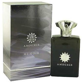 مذكرات Amouage بواسطة Amouage Eau de Parfum Spray 3.4 Oz (رجال) V728-515260