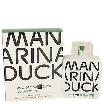Mandarina Duck Black & White By Mandarina Duck Eau De Toilette Spray 3.4 Oz (men) V728-535321