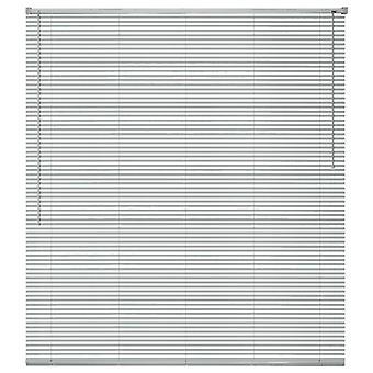 Window blinds aluminium 160x160 cm silver