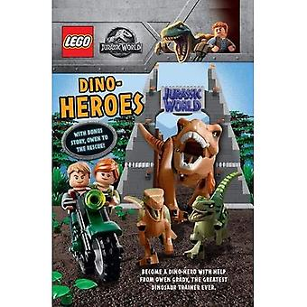 Dino Heroes (with bonus story Owen to the Rescue) (LEGO Jurassic World)